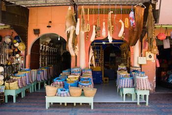 Shop the Souks of Morocco, Spice Market