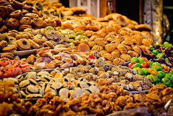 Moroccan Pastries, Sweets and Deserts