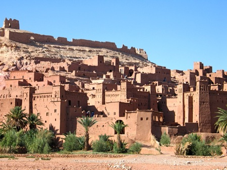 Ait-Benhaddou-Kasbah-Ouarzazate 