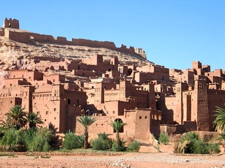 Ait-Benhaddou-Kasbah-Ouarzazate