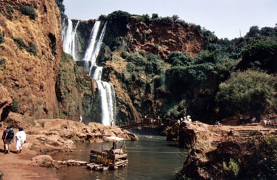 Cascades-D'Ouzoud-Waterfalls-Scenery