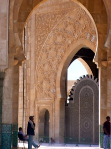 Hassan-II-Mosque-Archway-Casablanca