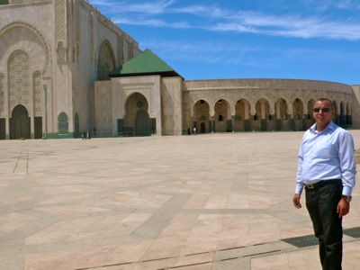 Hossaine-at-Hassan-II-Mosque-Casablanca-Morocco