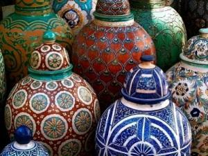 Moroccan-Pottery