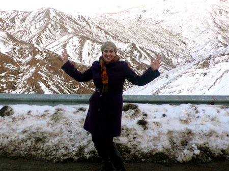 Alecia in Tickha Pass