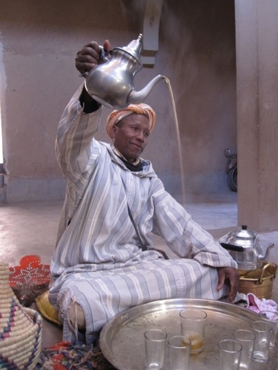 Tea-Pouring- Ceremony-Berber-Village-Tour