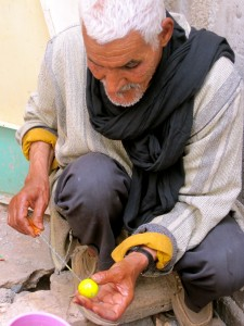 El Haj Bead-making in Taradount