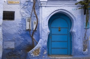 Chefchaouen Arched Doorway