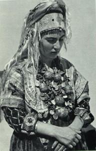 Jewish Woman, Silver Jewelry