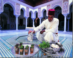 Tea Ceremony Morocco