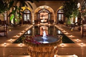 Marrakech Riad Courtyard Garden