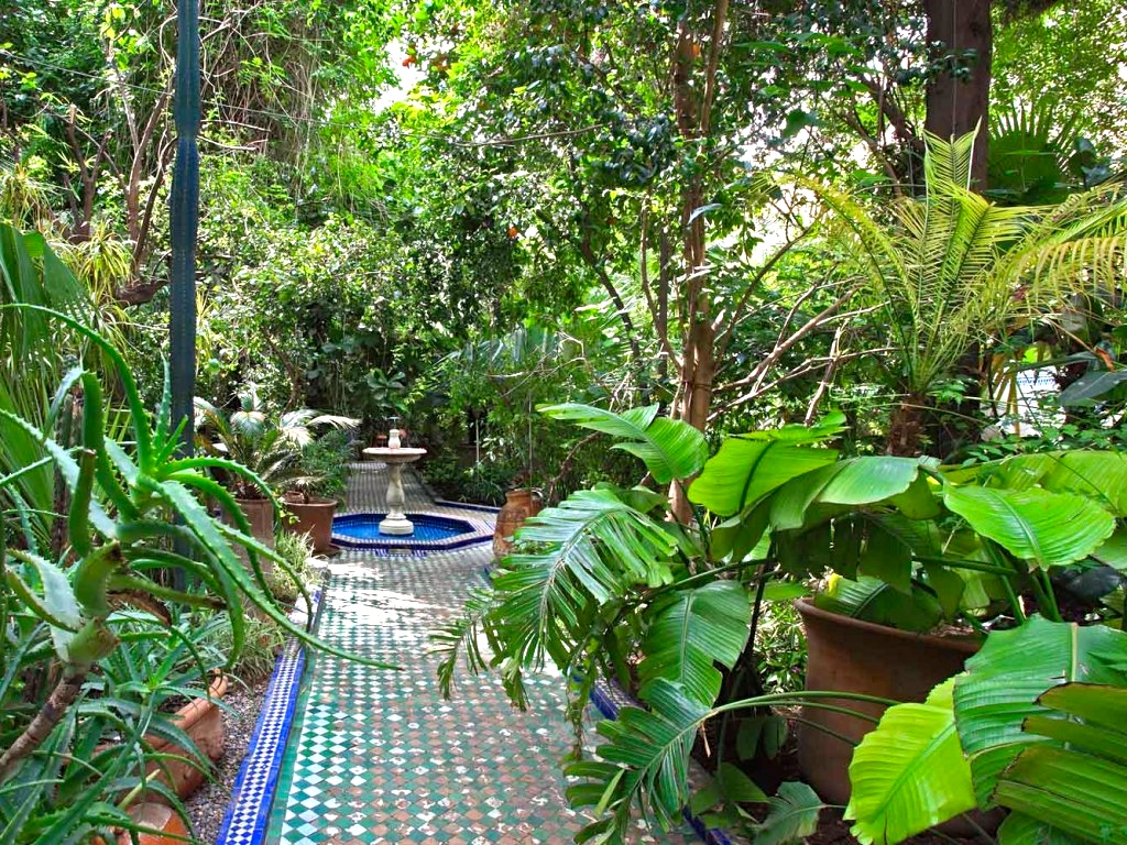 Luxury riads marrakech morocco travel blog for Gardens by design