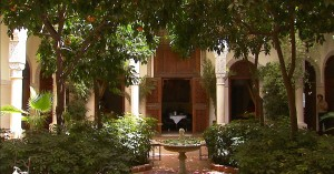 Villa Des Orangers Courtyard Marrakech