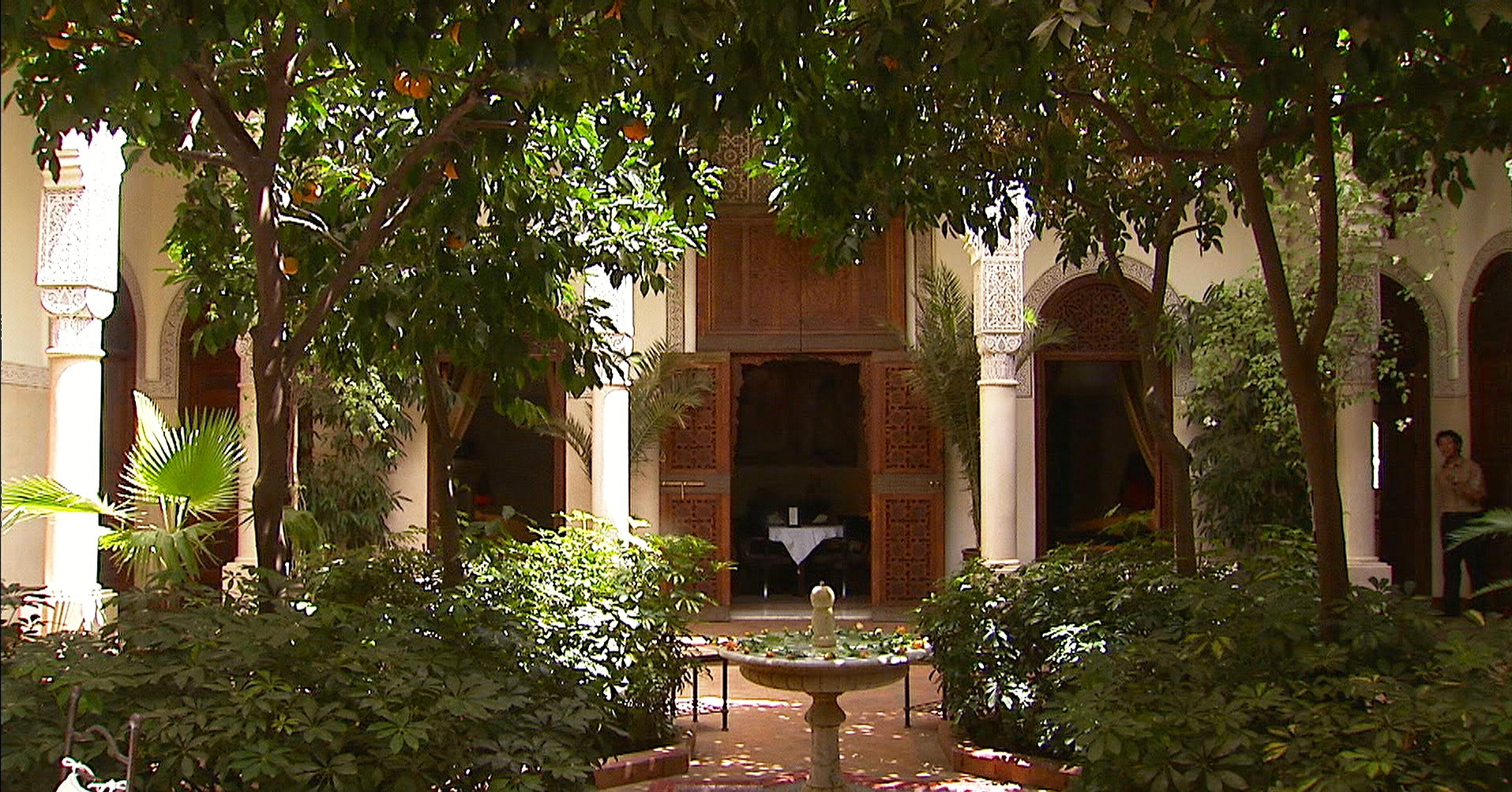 5 fabulous courtyard gardens in marrakech morocco travel for Villa des jardins marrakech