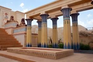Cleopatra, Atlas Studios, Ouarzazate