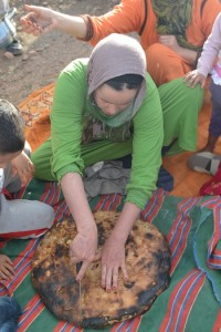 Bread baking with the Berbers