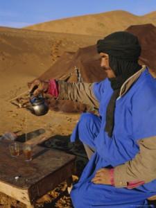 Morocco Tea Ceremony, Merzouga Sahara Desert