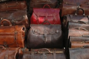 Fes Leather Traveler Bag