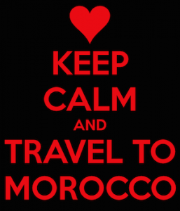 Keep Calm Travel to Morocco