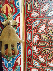 Painted Door Bab El Khemis, Marrakech - Morocco Travel Designer