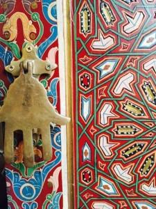 Painted Door Bab El Khemis, Marrakech - Morocco Travel Designer