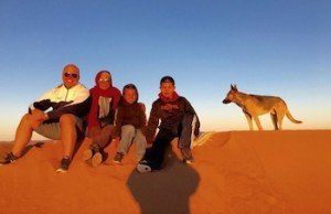 Morocco Family Vacation, Sahara Desert Adventure, Photograph by Rusk Elatassi