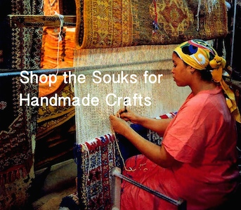 Moroccan Handicrafts, Shop the Souks