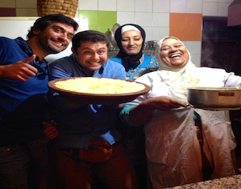 Honeymoon in Morocco, Food Tour, Photograph Courtesy of Amanda Mouttaki