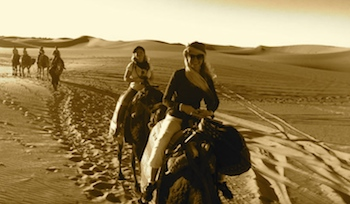 Family Adventure, Camel Trekking in the Sahara