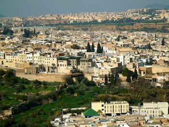 Fes Medina View, Jewish Mellah