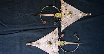 Casablanca Jewish Museum, Silver Fibulas, Jewelry