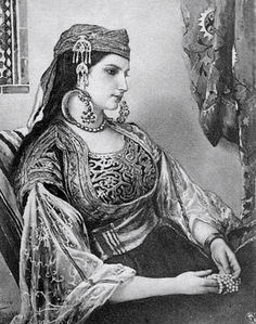 Moroccan Jewish Woman, Historic Photograph, Tangier