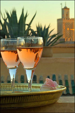 Wine & Cheese in Morocco