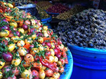 Habous Quarter, Casablanca Olive Market