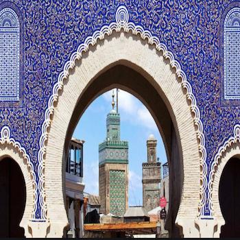 Bab Boujloud Gate, Fez